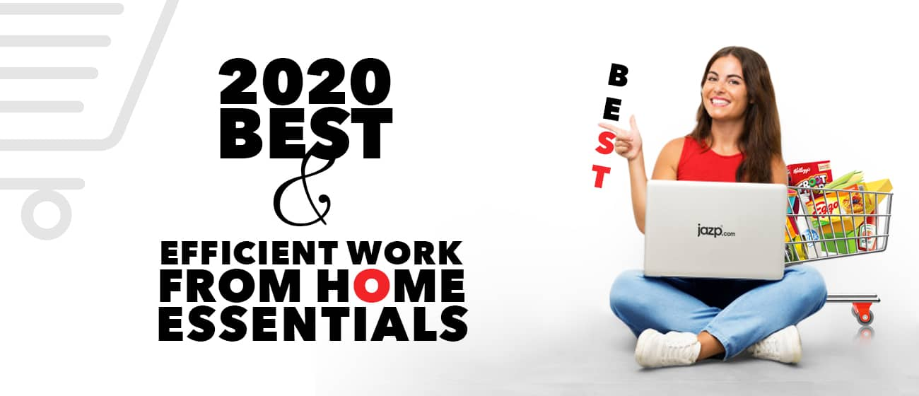 2020 Best & Efficient Work From Home Essentials!