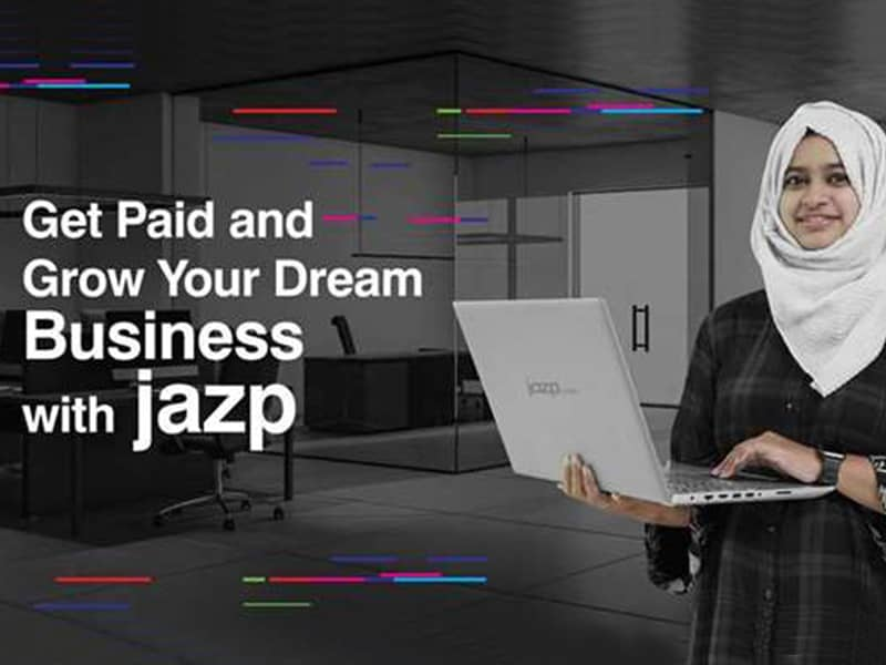 Get paid and grow your business with Jazp.com